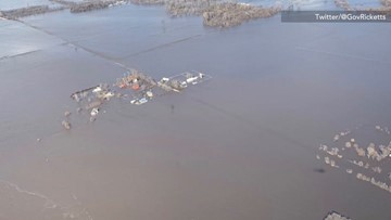 State leaders see the unbelievable flooding devastation