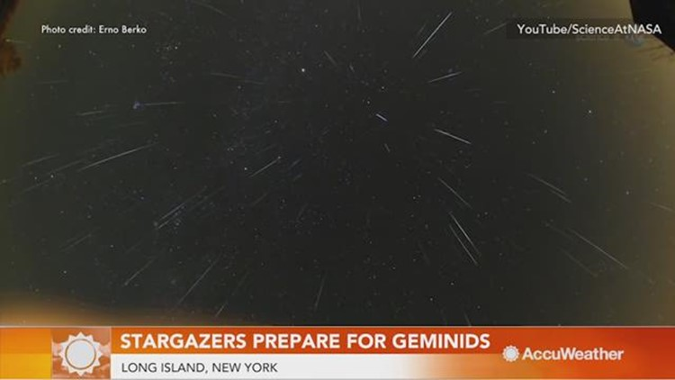 Stargazers brace the Geminid Meteor Shower peak
