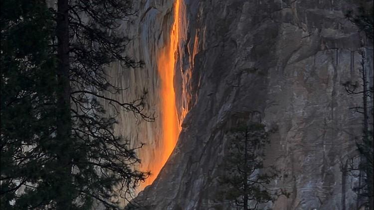 Firefall: A rare winter phenomenon