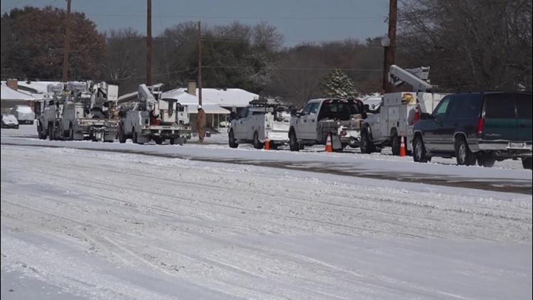 Texas' road to recovery from the cold