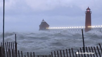 'Today, Lake Michigan is like an ocean'