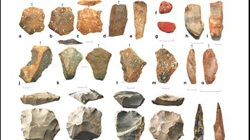 Stone Tools Indicate Early Humans Survived a Volcanic Super-Eruption