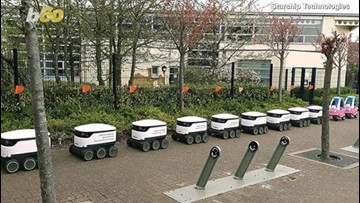 Delivery Droid! You Might See These Delivery Robots On A College Campus Near You!
