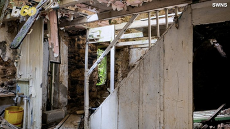 Abandoned Historic Cottage on the Market, But You Can't Actually View It for This Reason...