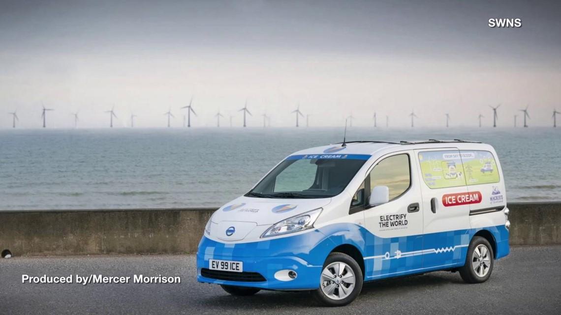 Nissan Unveils Zero Emissions Electric Ice Cream Van