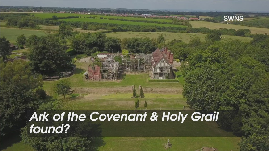 Holy Hoarding! UK Mansion Believed To Be Resting Place for Ark of the Covenant & Holy Grail!