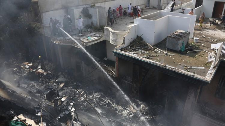 Pakistan Plane Crash May 22 AP