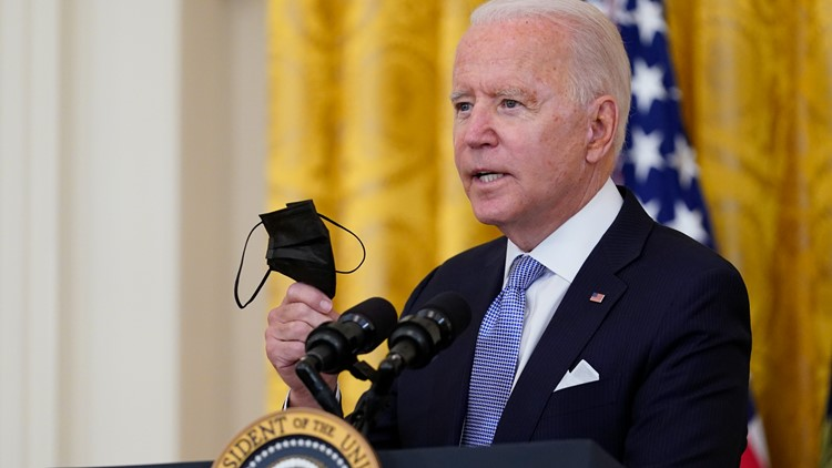 President Biden orders tough new vaccination rules for fed government