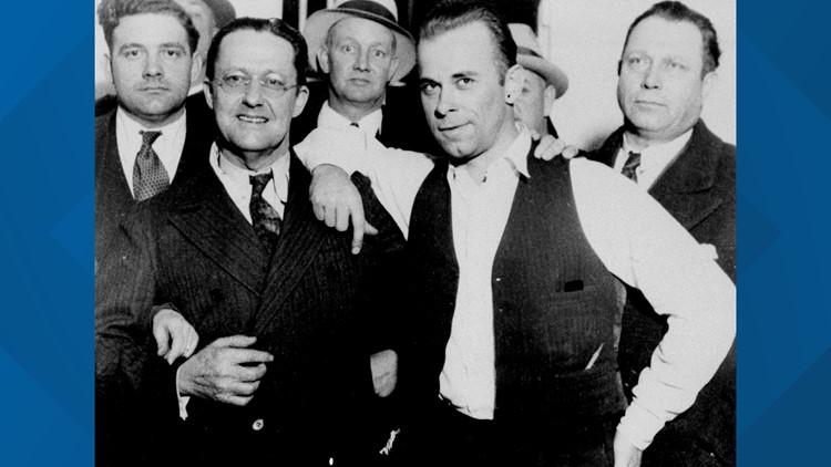 Dillinger And Law Enforcemment Friends