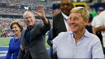 George W. Bush sends appreciation for Ellen's response to critics