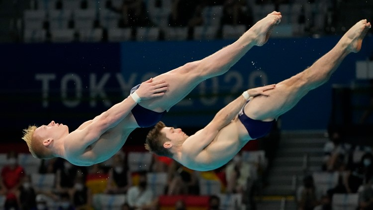 Why divers shower after every dive at the Tokyo Olympics