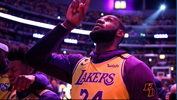 Kobe tribute game 2nd most watched in ESPN NBA history
