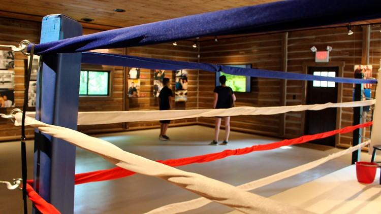 Muhammad Ali's Training Camp Boxing ring