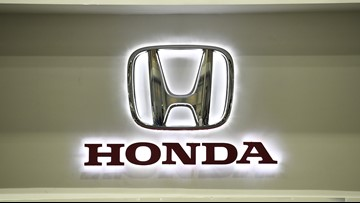 Honda recalls 1.4 million cars to replace front passenger air bag inflators from Takata