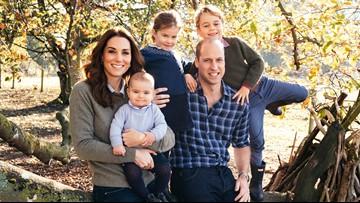 Royal family, including Meghan and Harry, share Christmas card photos