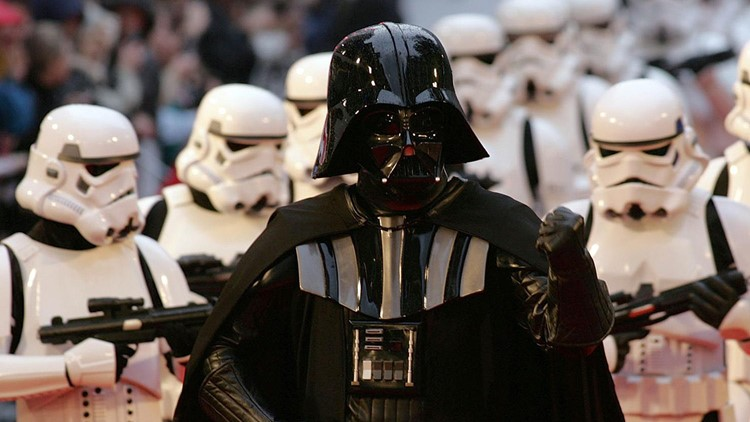 Who was the only actor to earn an Oscar nomination for their 'Star Wars' role?