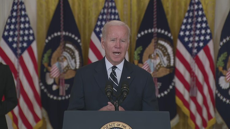 'No one got everything they wanted including me'   Biden lays out infrastructure framework