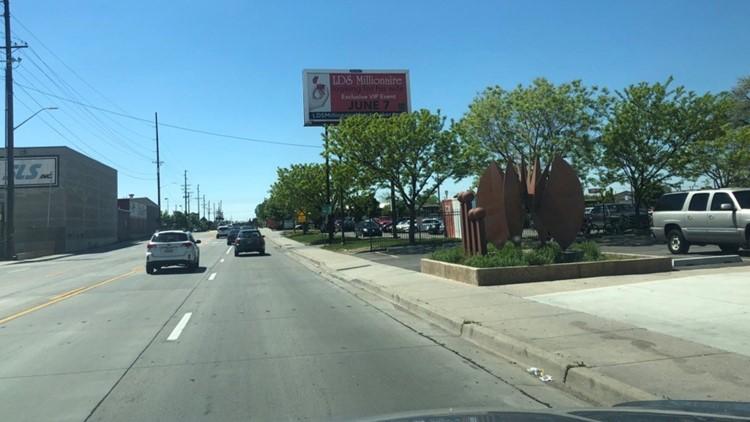 LDS millionaire billboard