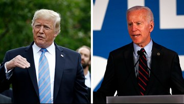 Trump, Biden trade barbs in dueling Iowa visits