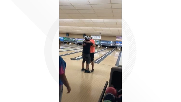 'So surreal': Man bowls perfect game using ball filled with father's ashes