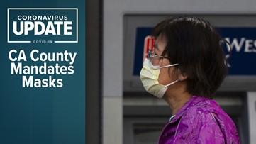 Coronavirus live updates: Washington state gives back ventilators; California county requires masks
