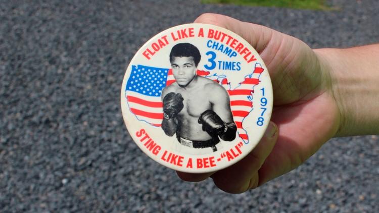 Muhammad Ali's Training Camp Boxing button