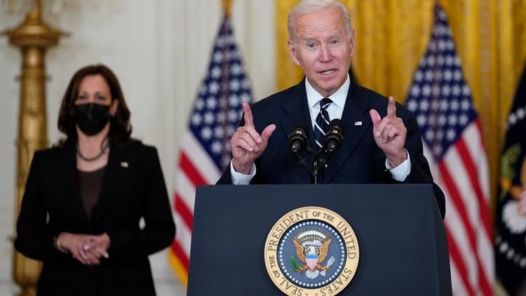 President Biden announces 'historic' deal  — but still must win votes