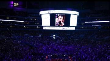 Beyoncé opens Kobe Bryant memorial with emotional musical tribute