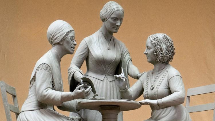First Female Statue