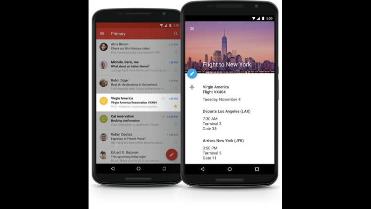 Gmail is getting a cleaner UI, snooze feature, smart replies, and more