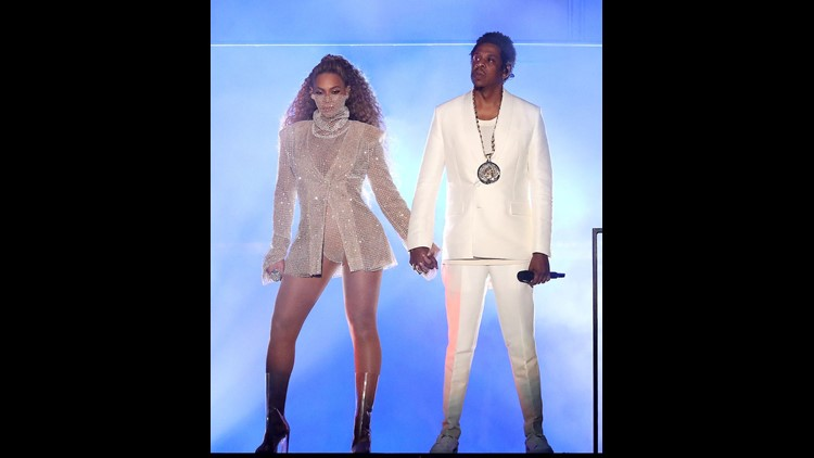 Jay-Z and Beyonce Drop