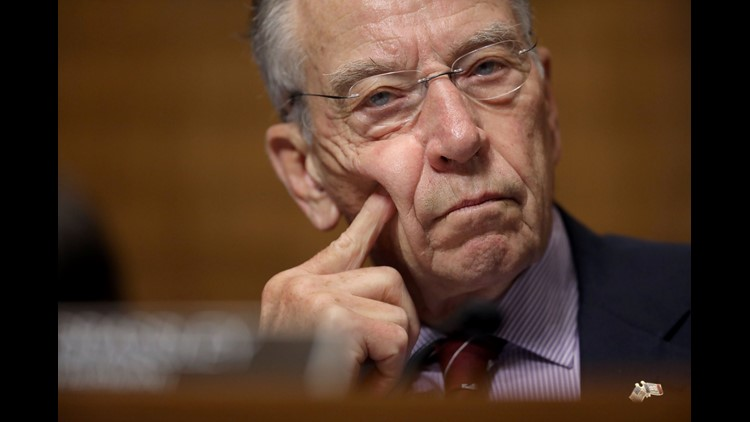 Grassley said that's only fair given the Senate declined to consider Barack Obama nominee Merrick Garland in 2016
