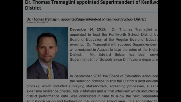 NJ superintendent charged with defecating on high school track