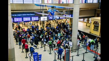 Thanksgiving flights: Busy getaway day now in full swing