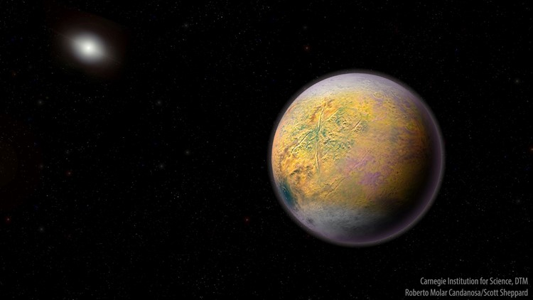 Hunt for Planet X uncovers new 'object'