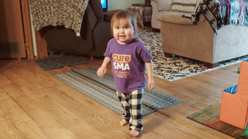 Toddler Who Got World's Most Expensive Drug Walks