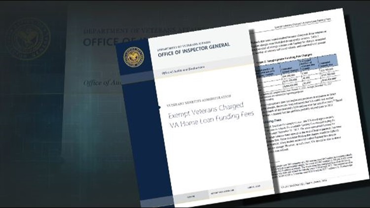 "The OIG report called the failure to refund overcharged veterans ""troubling."""