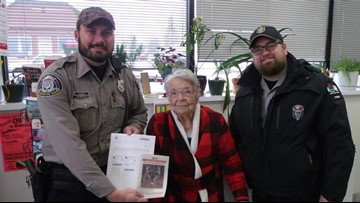 104-year-old bags buck two hours into her first hunt