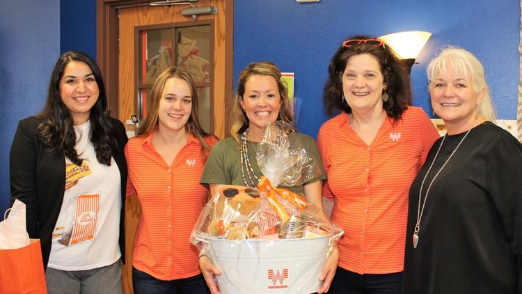 Comal ISD teacher wins 'Whatateacher Award' | 13wmaz.com