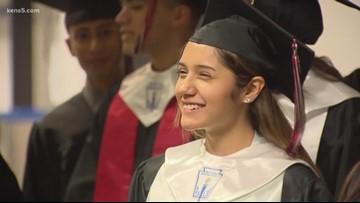 Texas high school grad defies the odds: 'I wasn't going to be what the statistics said'