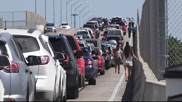 Travelers from Mexico are stuck waiting even longer at ports of entry before Easter