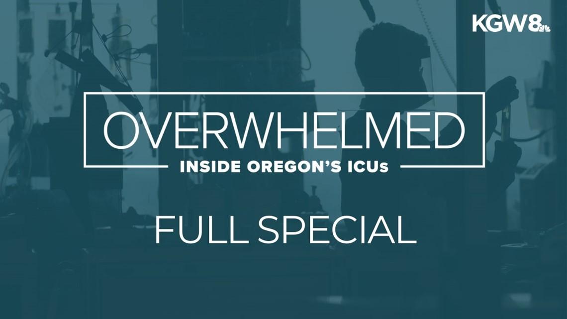 Overwhelmed: Inside Oregon's ICUs | 'We see no end'