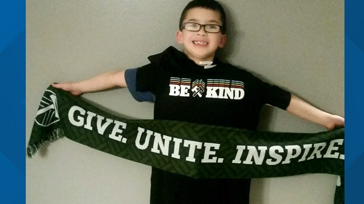 Timbers reward Vancouver student's act of kindness