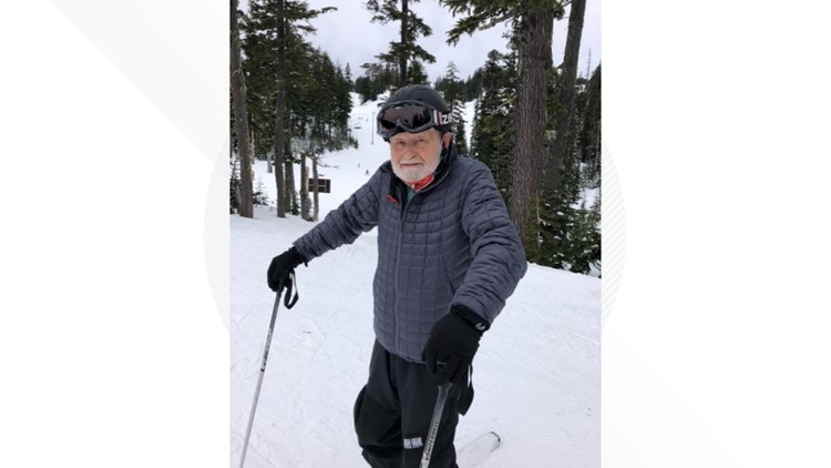 'I feel younger': Former Mount Hood Meadows ski instructor celebrates 96th birthday on the slopes
