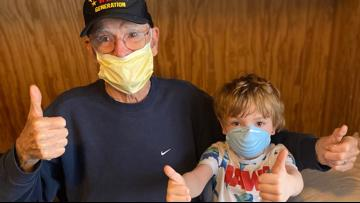 'I was fortunate': 95-year-old WWII vet survives the coronavirus