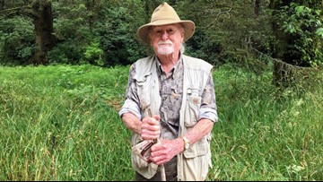At 93, Oregon man still walks the woods in search of Bigfoot
