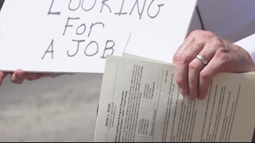 Texas man gets job offer after standing in an intersection handing out resumes