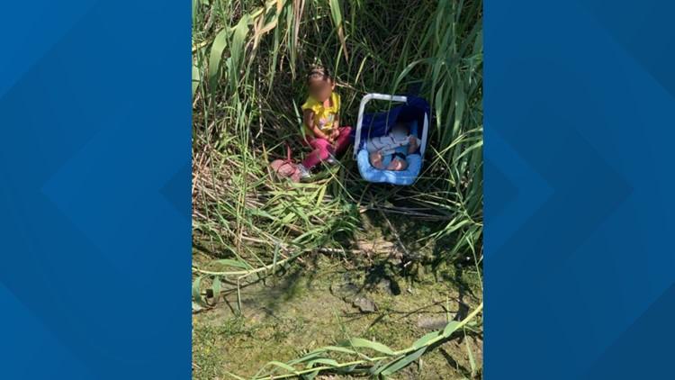 Border Patrol agents find, rescue two small children abandoned in Rio Grande