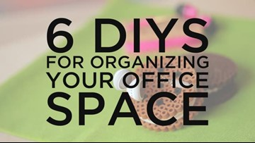 6 Clever DIY Office Organization Ideas