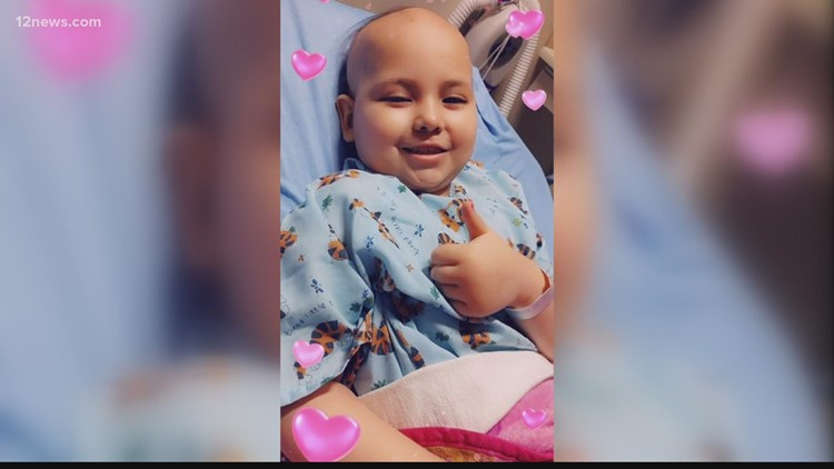 'Mali deserves to go to Disneyland': Community works to get an 8-year-old girl battling cancer to Disneyland
